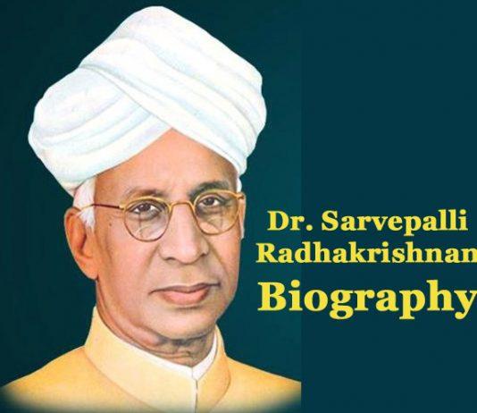 Dr-Sarvepalli-Radhakrishnan-Biography