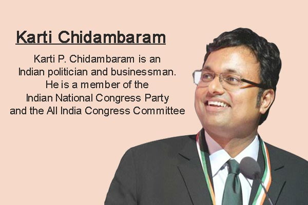 karti chidambaram Biography in Hindi