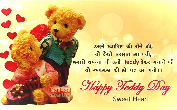Teddy Bear Day Shayari
