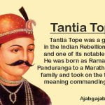 tatya tope biography in hindi