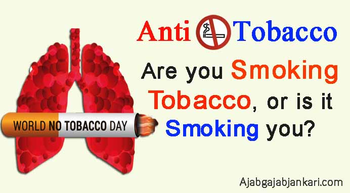 world no tobacco day slogans