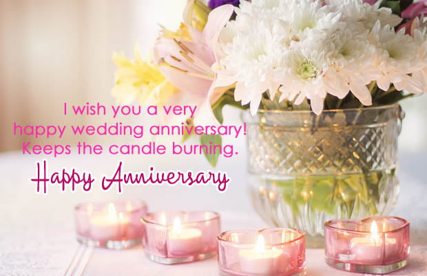 Happy Marriage Anniversary wishes for husband & wife on