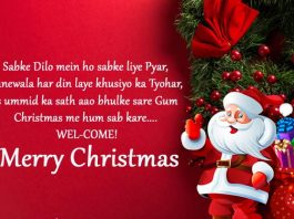 merry christmas whatsapp status in hindi