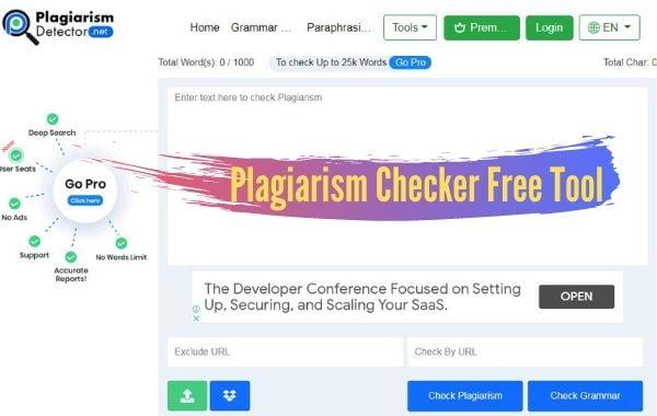 Plagiarism Checker Free Tool